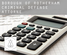 Rotherham (Borough)  criminal defense attorney