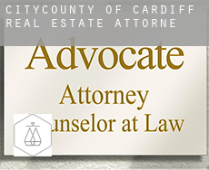 City and of Cardiff  real estate attorney
