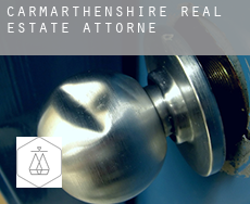 Of Carmarthenshire  real estate attorney