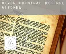 Devon  criminal defense attorney