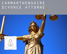 Of Carmarthenshire  divorce attorney