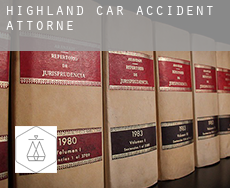 Highland  car accident attorney
