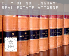 City of Nottingham  real estate attorney