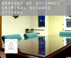 Solihull (Borough)  criminal defense attorney