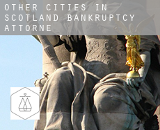 Other cities in Scotland  bankruptcy attorney