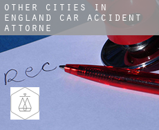 Other cities in England  car accident attorney