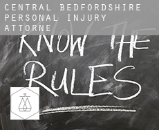 Central Bedfordshire  personal injury attorney