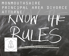 Monmouthshire principal area  divorce attorney