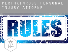 Perth and Kinross  personal injury attorney