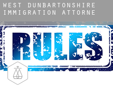 West Dunbartonshire  immigration attorney
