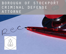 Stockport (Borough)  criminal defense attorney